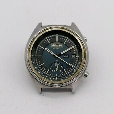 $ CDN205.80 • Buy Vintage Seiko Chronograph 6139-7071 Automatic, For Parts, Running