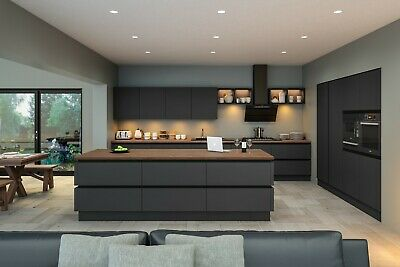 £505.71 • Buy High Gloss Acrylic Kitchen Doors Made To Measure