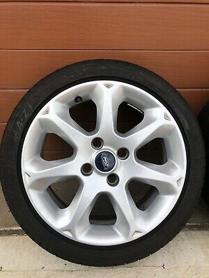 AU230 • Buy Ford Fiesta Zetec Mag Wheel Alloy Rims And Tyres.