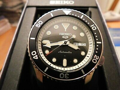 $ CDN211.47 • Buy Seiko 5 Sports SRPD95 Men's Automatic Silicone Strap Watch NEW WITH TAG
