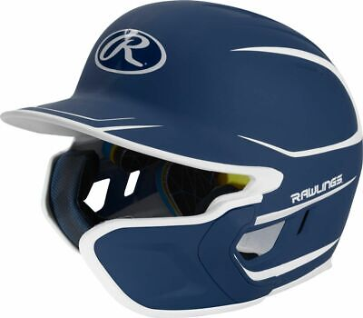 $62.95 • Buy Rawlings Mach Two-Tone Matte Batting Helmet With EXT Flap