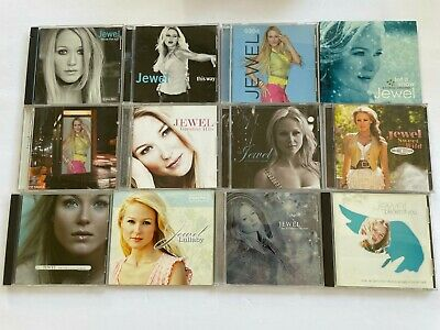 $ CDN36.49 • Buy JEWEL KILCHER 12 CD Lot This Way Sweet Wild Lullaby Let Snow Intuition Pieces ++