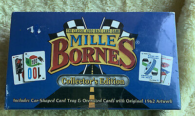 $19.99 • Buy Mille Bornes Collector's Edition The Classic Auto Race Card Game  1999  Sealed