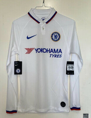 £49.99 • Buy Brand New Nike Chelsea Authentic Away Shirt Jersey Top 2019/20 Long Sleeve-White