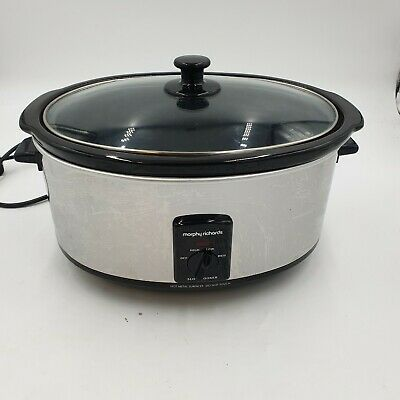 £5 • Buy Morphy Richards Slow Cooker Used Good Condition (hc)