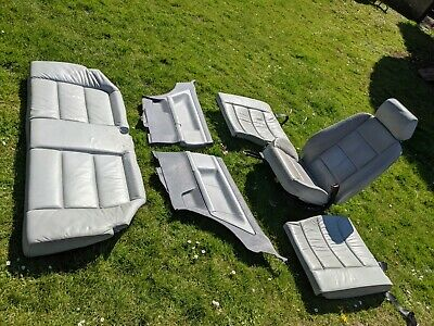 £25 • Buy BMW E36 3 Series Coupe Grey Leather Interior - Incomplete Set. No Reserve