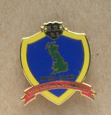 £4.99 • Buy BSRA No 3 Kelso Scottish No 1's Committee Collectable Scooter Enamel Pin Badge