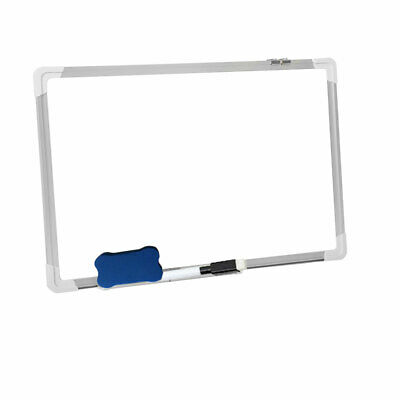 £23.89 • Buy Office Dry Erase Magnetic Whiteboard Wall Mounted Notices & School Meeting Board