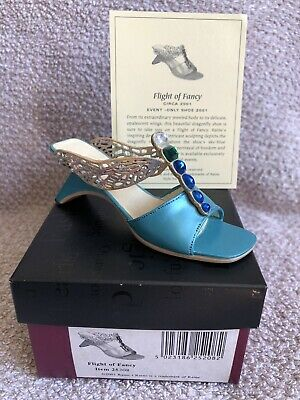 £5 • Buy Just The Right Shoe SIGNED Flight Of Fancy Miniature Shoe Figurine
