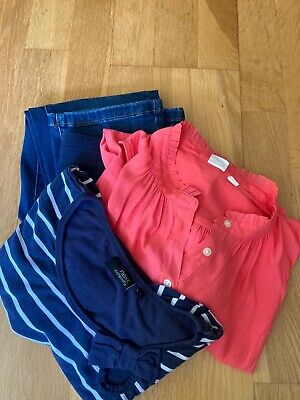 £8 • Buy Maternity Bundle, M&S Jeans, Gap And Next Tops - Sizes 8, S & 10