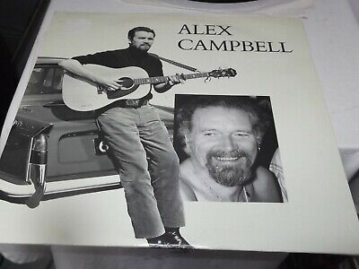 £9.99 • Buy Alex Campbell - With The Greatest Respect  Double Vinyl Lp