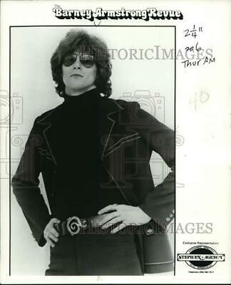 $ CDN27.54 • Buy 1976 Press Photo Member Of The Rock Group  The Barney Armstrong Revue