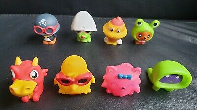 £12.99 • Buy Moshi Monsters Squeaky Toy Figures X8