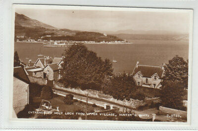 £1.95 • Buy Entrance To Holy Loch Upper Village Hunter's Quay Argyll 1953 Real Photograph