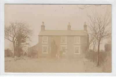 £2.95 • Buy Man And Dog Detached Cottage Huxley Tarporley Cheshire Real Photograph Post Card