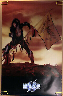 £14.51 • Buy WASP Original Vintage Poster W.A.S.P American Heavy Metal Band Music 80's 1985