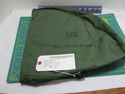 $11.95 • Buy Gas Mask Carrier M42 M45 Shoulder Sling Bag Od Green Us Military New With Tag