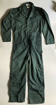 $75 • Buy Vintage Big Ben By Wrangler Coveralls MADE IN USA Green - Size 38 Long