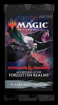 £3.98 • Buy Booster Pack ~ Adventures In The Forgotten Realms ~ Magic MTG SEALED
