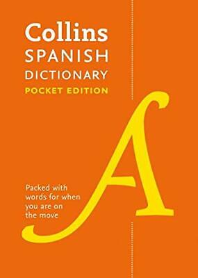 £6.49 • Buy Spanish Pocket Dictionary: The Perfect Portable Dicti... By Collins Dictionaries