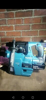 £285 • Buy Makita DHR242 SDS With 4ah Battery And Fast Charger + Dust Extractor Unit