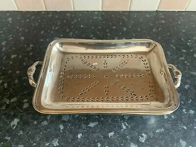 £4.99 • Buy Mappin & Webb Silver Plated Entree  Dish  With Strainer