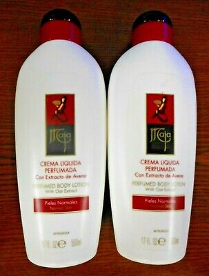 $59.99 • Buy LOT OF 2 MAJA PERFUMED BODY LOTION WITH OAT EXTRACT 17oz EACH