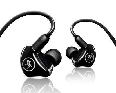 $165 • Buy Mackie MP-240 Dual Hybrid Driver Professional In-Ear Monitors+Molded Carry Case