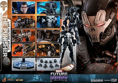 $ CDN522.42 • Buy Hot Toys The Punisher War Machine Armor 1/6 Scale Figure Frank Castle Sideshow
