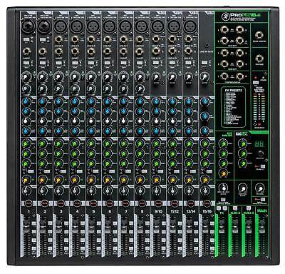 $429 • Buy Mackie ProFX16v3 16-Channel 4-Bus Professional Effects Mixer W/USB ProFX16 V3