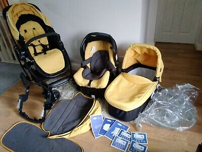 £50 • Buy Graco Evo Travel System 3 In 1 -Pram/Buggy, Isofix/Belt Car Seat, Cot, Raincover