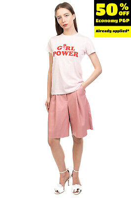 £0.99 • Buy ELEVEN PARIS X DALLAS T-Shirt Top Size XS Two Tone Printed 'GIRL POWER' Front