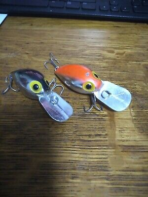 $16 • Buy  TWO Pre-Rapala  Storm Magnum Wiggle Wart Lures