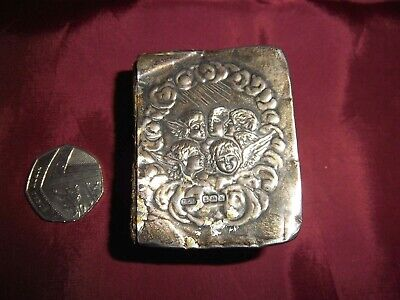 £34.99 • Buy Miniature Antique Book Of Common Prayers Real Silver Cover