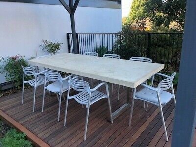 AU600 • Buy High Quality Outdoor Setting Table With 8 Chairs.