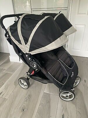 £145 • Buy Baby Jogger City Mini Double Black Pushchair RPP £449.99 - Will Courier