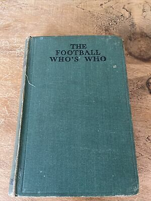 £2.99 • Buy 1935 The Football Who's Who ' The Leader'. Of Biographical As Well As Historic