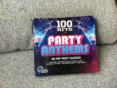 £0.99 • Buy 100 Hits Party Anthems 5 Cds 70s 80s 90s Cheap Trick Leo Sayer Joboxers Jackson'