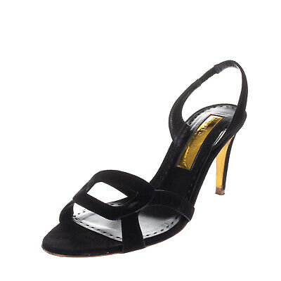 £29.99 • Buy RRP€950 RUPERT SANDERSON Leather Slingback Sandals EU41 UK8 US11 Made In Italy