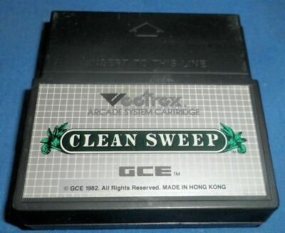 £10.07 • Buy VECTREX CLEAN SWEEP Game Only Very Good Condition 1982