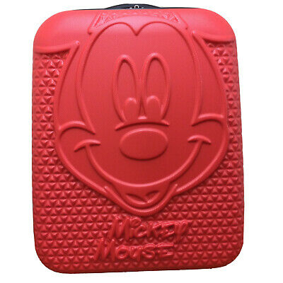£53.99 • Buy Disney Mickey Mouse Red Hard Shell SMALL Cabin CRUISE Case Luggage Suitcase BNWT
