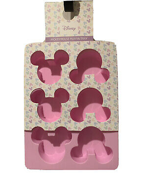 £13.90 • Buy BNWT Official Disney Minnie Mouse Pink Silicone Muffin Tray Baking Mould
