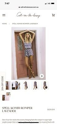 AU65 • Buy Spell And The Gypsy Kombi Romper