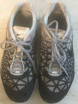 $ CDN20.13 • Buy Womens NIKE Free Tennis Shoes Sneakers Size 8 M Grey And Black Pre-owned