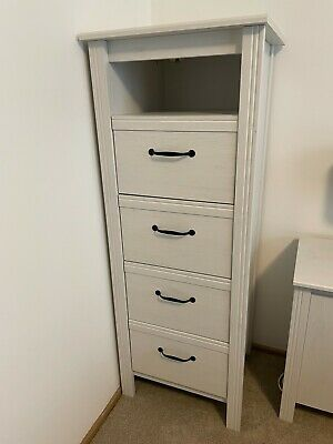 AU90 • Buy Ikea Brusali Tall Chest Of Drawers In White