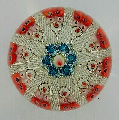£18 • Buy Strathearn Large Millefiori Vintage Glass Paperweight