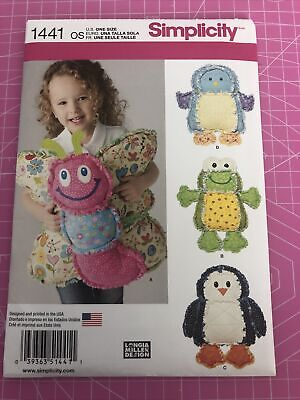 £1.50 • Buy Simplicity Rag Quilted Animal Pillows Simplicity 1441 NEW