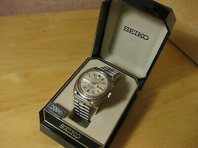 $ CDN45.01 • Buy Seiko Bell-matic 1970's Vintage Automatic Alarm Day Date Watch Model 4006-7001