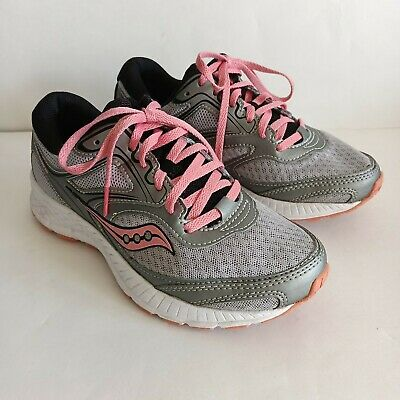 $ CDN44 • Buy Saucony Grid Cohesion 12 Gray Pink Running Shoes S10472-3, Women's Size 6.5W
