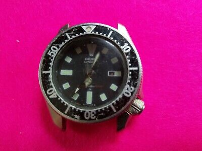 $ CDN17.22 • Buy Vintage Seiko Automatic Divers Watch (model 4205) Not Working For Spares/repair.